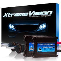 XtremeVision 35W Xenon HID Lights with Premium Slim Ballast - Bi-Xenon 9007 6000K - 6K Light Blue - 2 Year Warranty