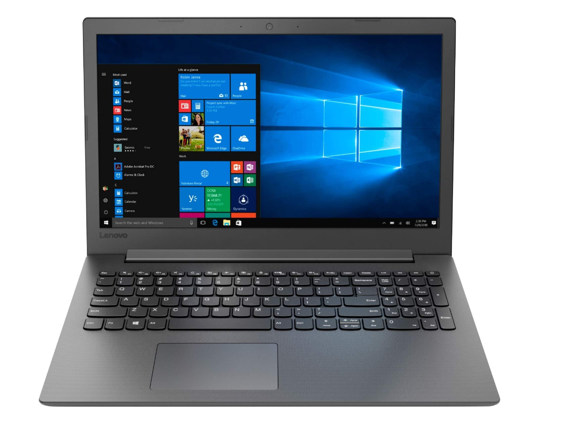 "Lenovo 130-15AST Home and Entertainment Laptop (AMD A9-9425 2-Core, 8GB RAM, 1TB SATA SSD, 15.6"" HD (1366x768), AMD Radeon R5, WiFi, Bluetooth, Webcam, 2xUSB 3.1, 1xHDMI, SD Card, Win 10 Pro)"