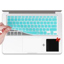 """Ultrathin Keyboard Skin, FORITO Keyboard Covers for MacBook Pro 13, for MacBook Pro 15, for MacBook Air, for MacBook Wireless Keyboard and for iMac, for 13"""" 15"""" and 17"""" with/Without Retina (HOT Blue)"""