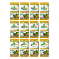 gimMe Organic Roasted Seaweed - Toasted Sesame - 12 Count Sharing Packs - Keto, Vegan, Gluten Free - Great Source of Iodine and Omega 3's - Healthy On-The-Go Snack for Kids & Adults