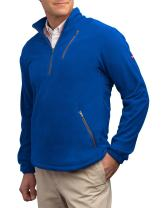 SCOTTeVEST Microfleece Pullover - 8 Pockets – Comfortable Travel Clothing