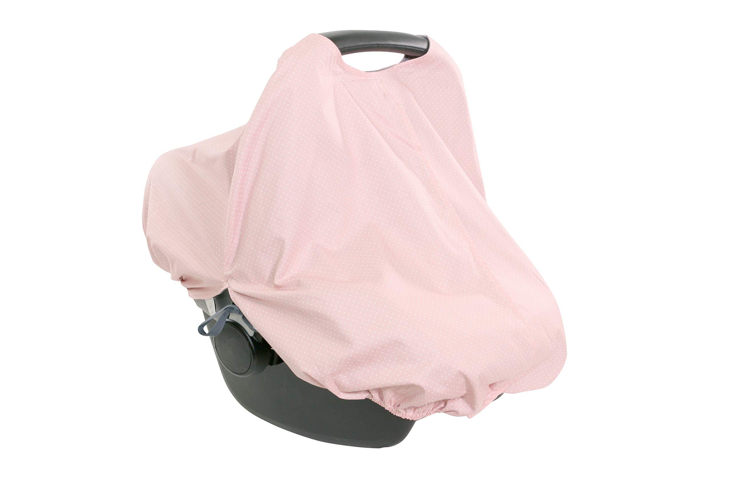 100% Cotton Nursing Cover by ULLENBOOM   Multi-Use Breastfeeding Scarf/Shawl   Girls Pink