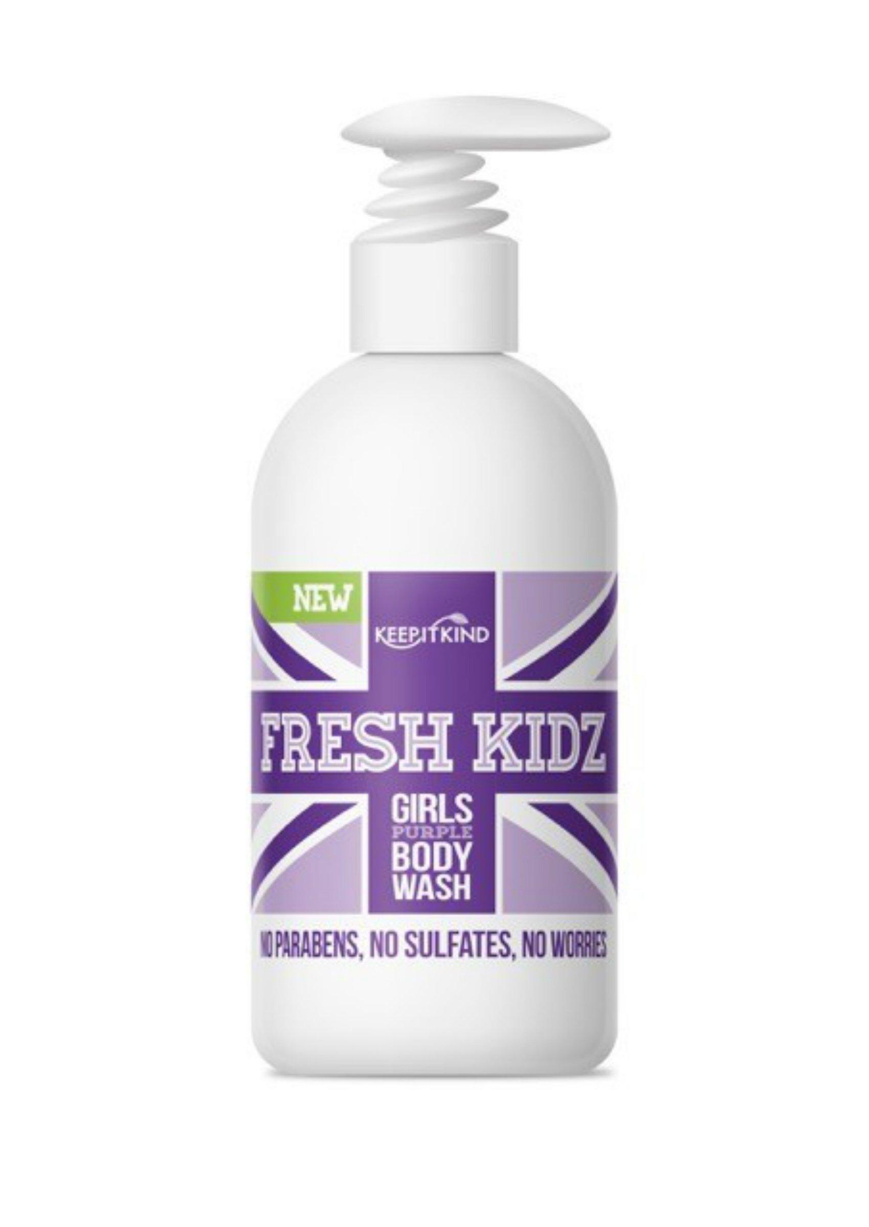 "Keep It Kind Fresh Kidz Natural Body Wash - Girls""Purple"", 16.9 fl.oz."