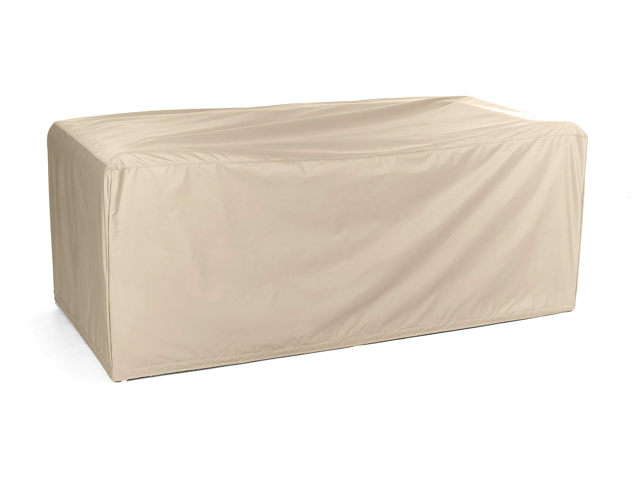 Covermates – Modular Sectional Sofa Cover – Heavy Duty Material - Water and Weather Resistant - Patio Furniture Covers - Khaki