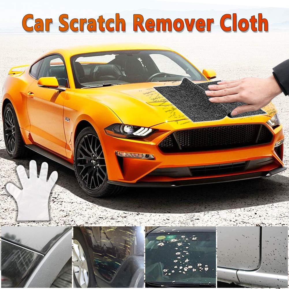 Vignee Multipurpose Car Scratch Remover Cloth,Car Scratch Remover Cloth,for Repairing Car Scratches and Light Paint Scratches Remover Scuffs on Surface