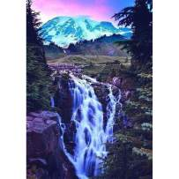 DIY Diamond Painting for Adult Full Square Drill Paint with Diamonds Kits 5D Diamond Art for Wall Decor Waterfall 11.8X15.7inch
