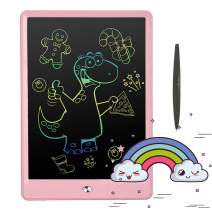 Pilipada LCD Writing Tablet Colorful Drawing Tablet, 10 Inch Light Drawing Board Doodle Pad, Early Educational Writing Board for Kids