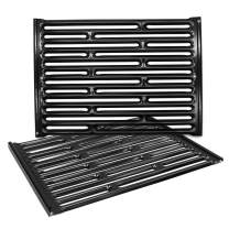 Hongso 7523 7521 7522 15 Inches Porcelain Enameled Cooking Grill Grates Replacement Grid for Weber Spirit E-210, Spirit S 200 & 210 Genesis Silver A, Spirit 500 7534 65904 65905 Gas Grills PCG523