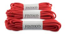 3 Pairs of Oval Running Shoelaces for Sneakers