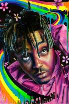 Inked and Screened Juice WRLD Poster Music, 16x24(40x60cm)