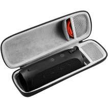 Hard Carrying Travel Case for JBL Flip 4/Flip 3 Splash Proof Bluetooth Portable Stereo Speaker, Fits USB Cable.(Crosswise)