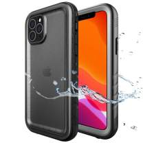 SPORTLINK Waterproof Case for iPhone 11 Pro Max, Built-in Clear Screen Protector Full Body Heavy Duty Protection Full Sealed Cover Shockproof Dustproof Rugged Case for iPhone 11 Pro Max 6.5 Inch