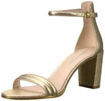 Kenneth Cole New York Women's Lex Strappy Block Heel Sandal Leather Dress