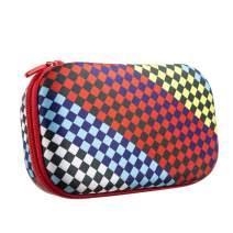 ZIPIT Fresh Colorz Pencil Box/Pencil Case/Storage Box, Race Flag
