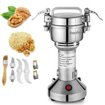 Mophorn Electric Grain 150g Mill Grinder Powder Machine 950W 50-300 Mesh Food Grade 25000RPM Stainless Steel for Kitchen Herb Spice Pepper Coffee