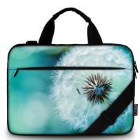 "icolor 13"" 15"" Canvas Laptop Shoulder Messenger Bags Briefcase Tablet Handle Sleeve Cover Holder"