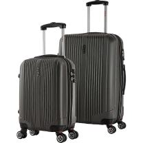 "InUSA San Francisco 18"" & 26"" Hardside Luggage Set, Charcoal"