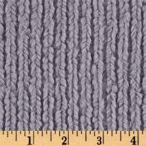 Shannon Fabrics Shannon Minky Luxe Cuddle Chenille Steel Fabric By The Yard