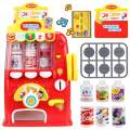 FS Interactive Vending Machine Game, Pretend Play Electronic Drink Machines, Early Developmental Toy, Develop Common Sense of Life, Fun Gift for Age 3, 4, 5, 6, 7, 8 Years Old Kids, Boys, Girls
