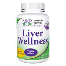 Michael's Naturopathic Programs Liver Wellness - 60 Vegan Tablets - Contains Nutrients for the Support of the Liver in its Detoxifying Functions - Vegetarian, Kosher - 20 Servings