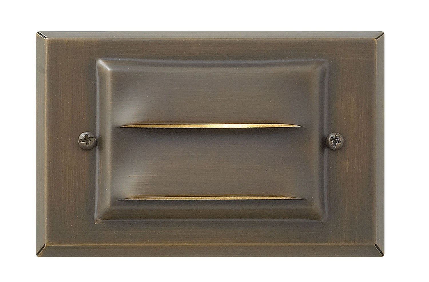 Hinkley Lighting Landscape Deck Light - Hardscape Deck Light to Illuminate Exteriors and Increase Home Security, Matte Bronze Finish, Hardy Island Collection, 1546MZ