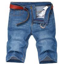 Soojun Men's Light Weight 5 Pocket Casual Denim Shorts