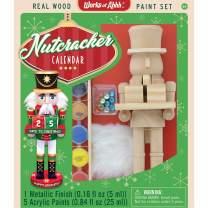MasterPieces Holiday Wood Paint Kit - Nutcracker Calendar