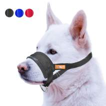 wintchuk Nose Strap Dog Muzzle Prevent from Taking Off by Dogs for Small,Medium and Large Breed,Stop Puppy Biting and Chewing
