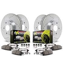 Power Stop K1240-26 Front & Rear Z26 Street Warrior Brake Kit Acura Honda