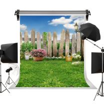 Kate 10x10ft/3x3m Spring Photography Backdrops Easter Backdrop Lawn Garden Backdrop Party Sunny Blue Sky Photographic Background Children