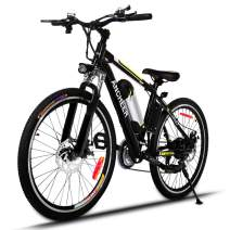 ANCHEER Power Plus Electric Mountain Bike, 26'' Electric Bike with Removable 36V 8Ah Lithium-Ion Battery, 21 Speed Shifter