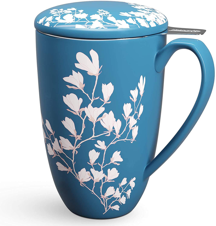 Vietri Viva Santorini Flower Mug