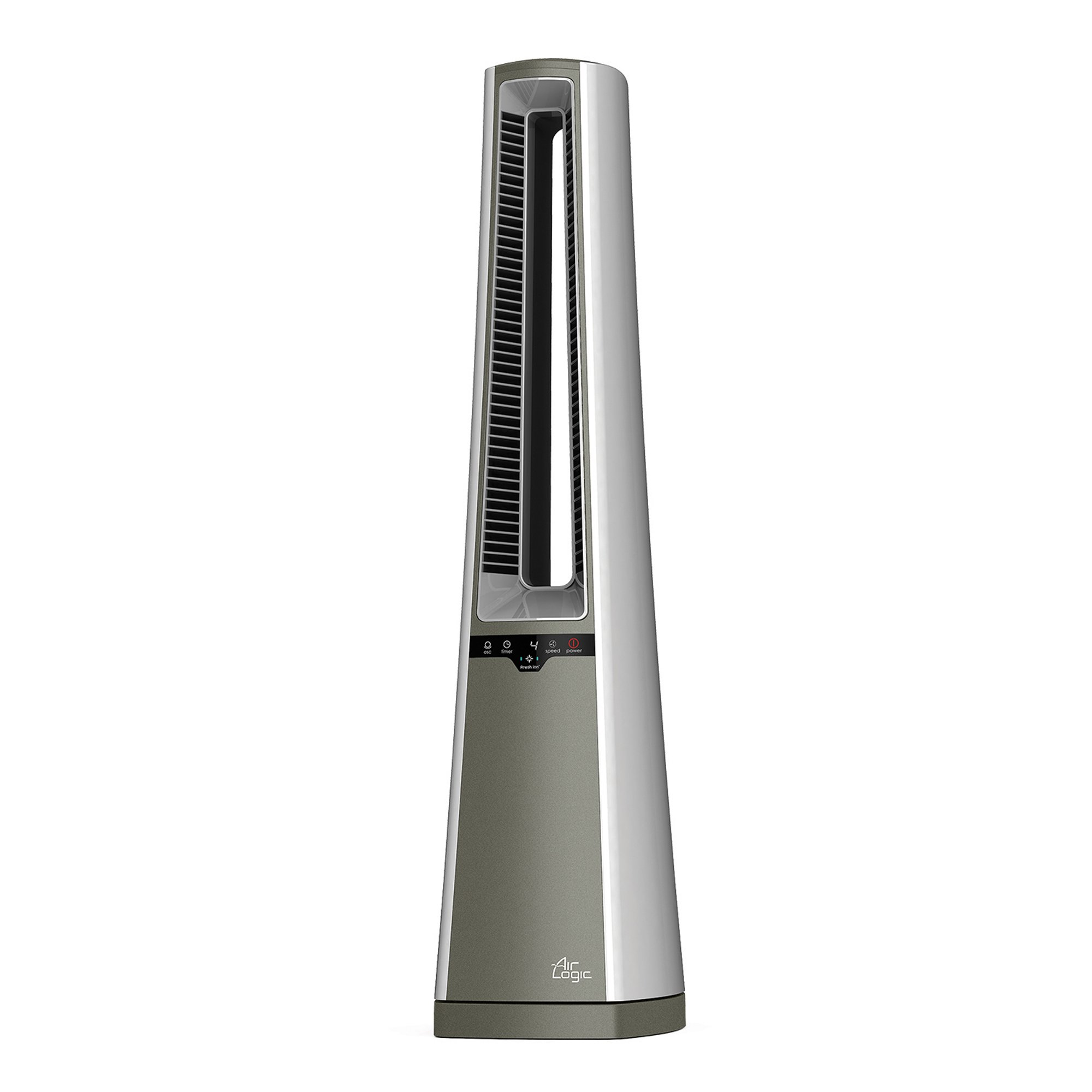 Lasko AC600 Air Logic Bladeless Tower Fan - Provides Quiet Circulation for the Home or Home Office