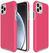 CoverON Slim Protective Hybrid Rugged Series for iPhone 11 Pro Max Case (2019), Hot Pink