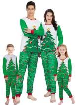 TUPOMAS Christmas Family Matching Pajamas Set Men Women Pyjamas Boys Girls Xmas Santa Pjs Toddlers Kids Sleepwear