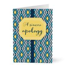 Hallmark Business Apology Card for Customers and Employees (Confident Apology) (Pack of 25 Greeting Cards)