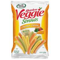 Sensible Portions Garden Veggie Straws, Cheddar Cheese, 7 oz. (Pack of 12)