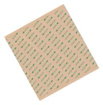 """3M 9472LE 12X12-6-9472LE Adhesive Transfer Tape 12"""" x 12"""" (Pack of 6)"""
