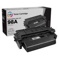 LD Remanufactured Toner Cartridge Replacement for HP 98A 92298A (Black)