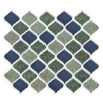 FAM STICKTILES Peel and Stick Tiles Backsplash for Kitchen - Adhesive Backsplash Tiles, Decorative Tile Stickers for Kitchen Bathroom RV, Stick on Wall Sticker Backsplash (11'' x 10'', 4 Sheets)