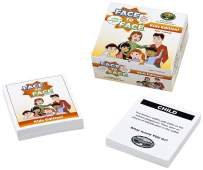 Harvest Time Partners Face to Face Card Game (Kids Edition) – Open Communication and Character Development, Ages 7 and Up