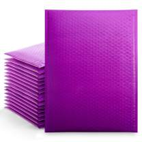 Metronic 25Pcs Poly Bubble Mailers,10.5X16 Inch Envelopes Padded Bulk #5, Bubble Envelopes Lined Wrap Polymailer Bags for Shipping/ Packaging/ Mailing Self Seal Purple