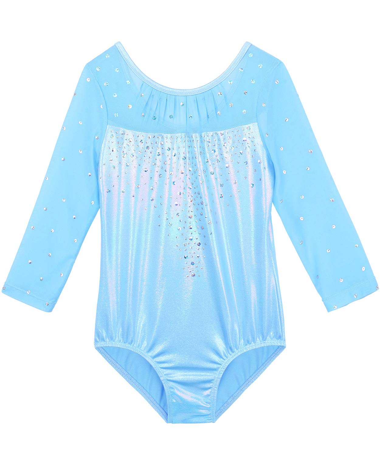 BAOHULU Girls Gymnastics Leotards One-Piece 3-14 Years Practice Outfit