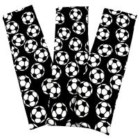 """Soccer Stretch Headbands - (3 Pack) for Women, Teens, Kids - 2.25"""" Wide, Spandex, Silky Sweatbands for Soccer - Sports - Yoga - Fashion"""