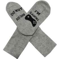 Engmoo Novelty Socks Do Not Disturb Socks Funny Gaming Socks Gift For Game Lover