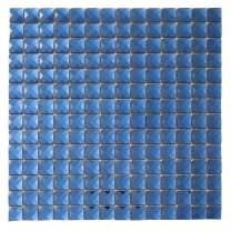 Diflart Mirror Glass Mosaic Tile Blue Crystal Diamond Mosaic Tile 3/4 inch for Kitchen Backsplash Bathroom Pool KTV Bar Wall Pack of 5 (Blue)
