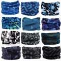 KALILY 12PCS/9PCS/6PCS Headband Bandana - Face Shield Headwrap Scarf Neck Gaiter Hair Band