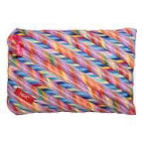ZIPIT Colorz Big Pencil Case/Cosmetic Makeup Bag, Stripes