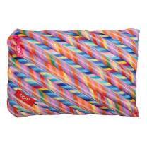ZIPIT Colorz Big Pencil Case/Cosmetic Makeup Bag, Stripes