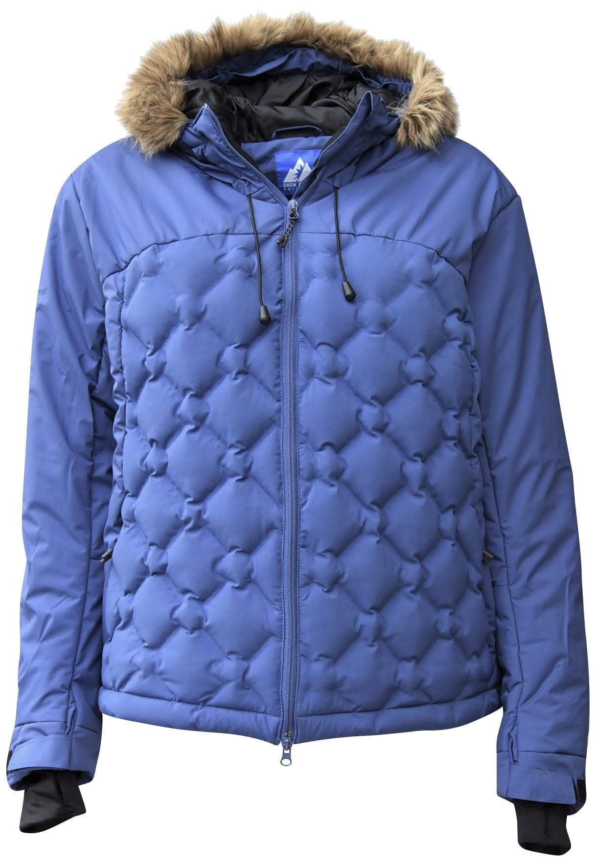 Snow Country Outerwear Women's Plus Size Hail Stone Down Alternative Coat Jacket